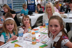 Girl scouts tackle financial concepts