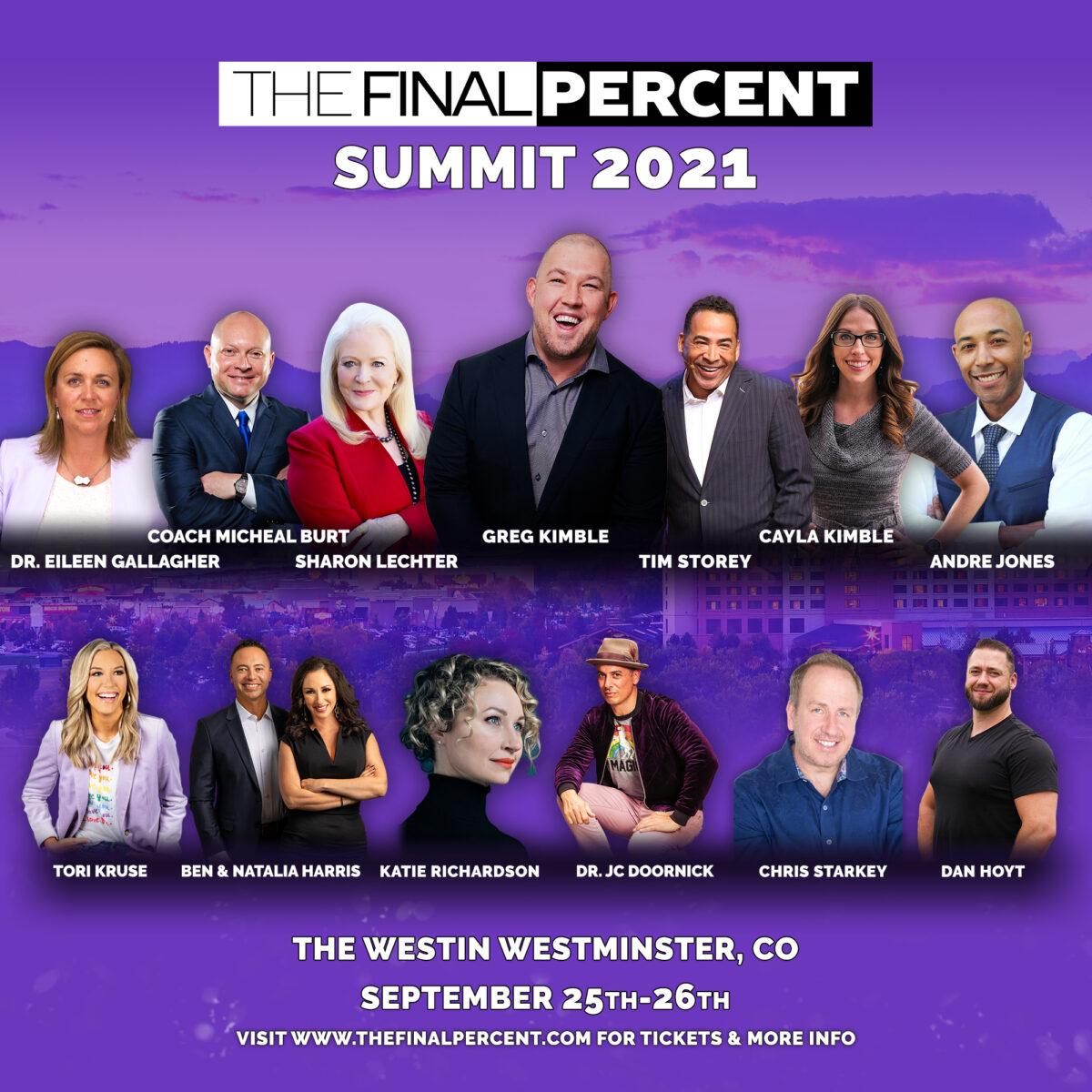 The Final Percent